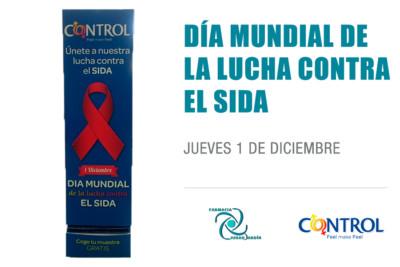 dia mundial sida Farmacia Ciudad Jardín Málaga